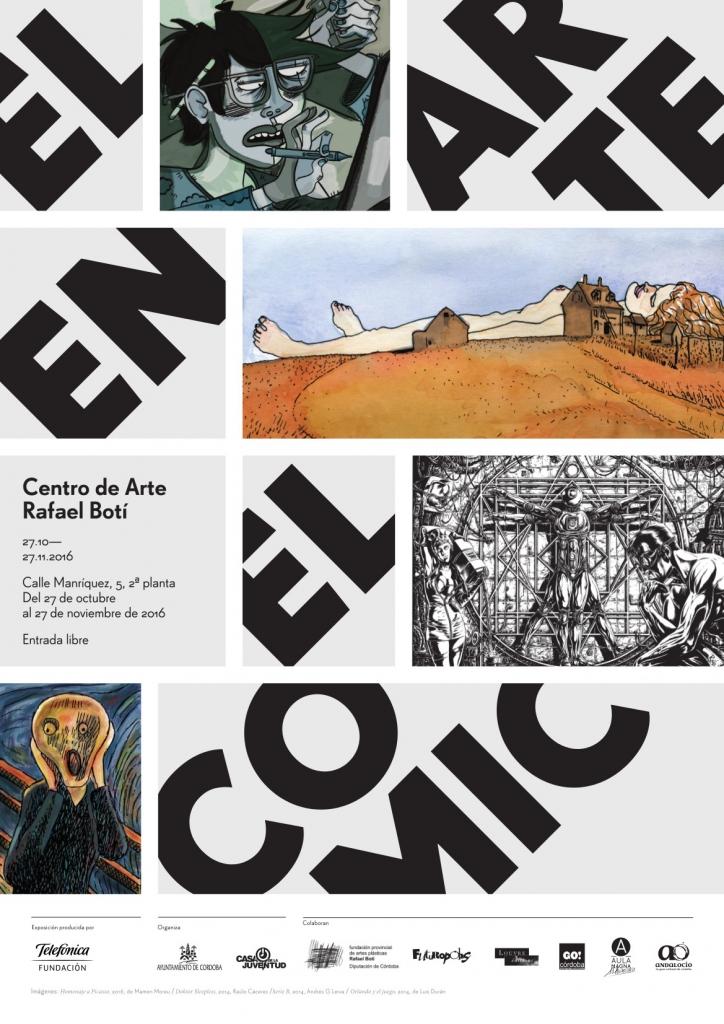 cartel Arte en el cómic