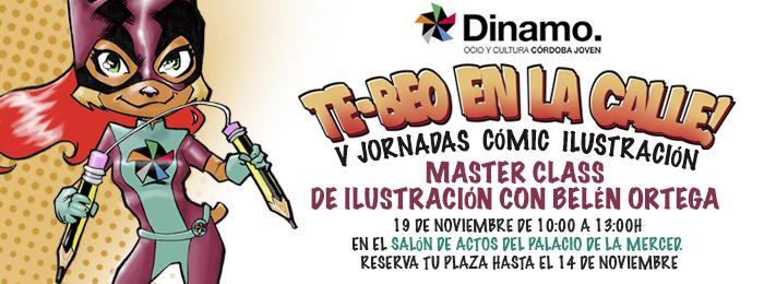 MASTER CLASS DE ILUSTRACIÓN CON BELÉN ORTEGA