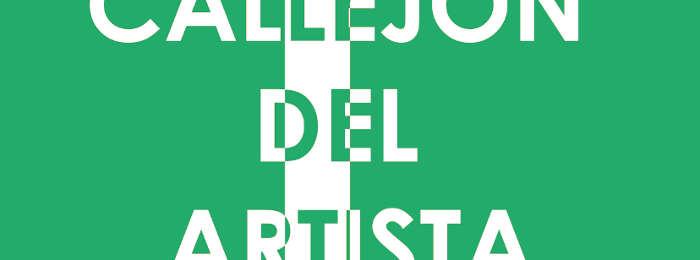 CALLEJÓN DEL ARTISTA. CONVOCATORIA