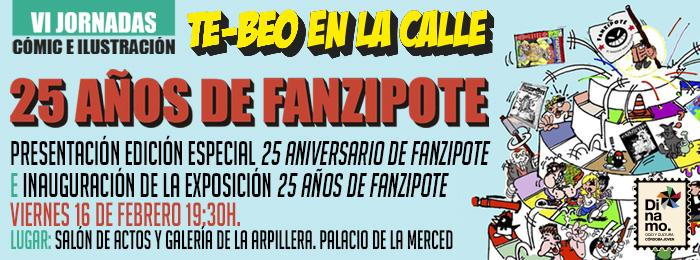 """Presentación e inauguración """"25 años de Fanzipote"""""""