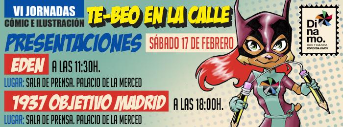Presentaciones de Eden y 1937 Objetivo Madrid