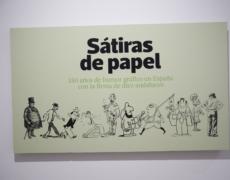 Exposición Sátiras de papel