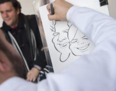 Dibujo y caricatura en vivo