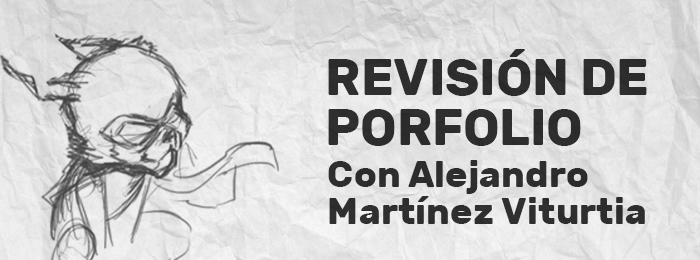 Revisión de porfolio. Alejandro Martínez Viturtia