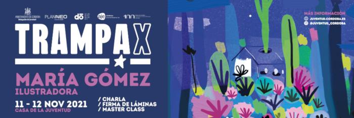 Charla y firma de láminas y master class de María Gómez